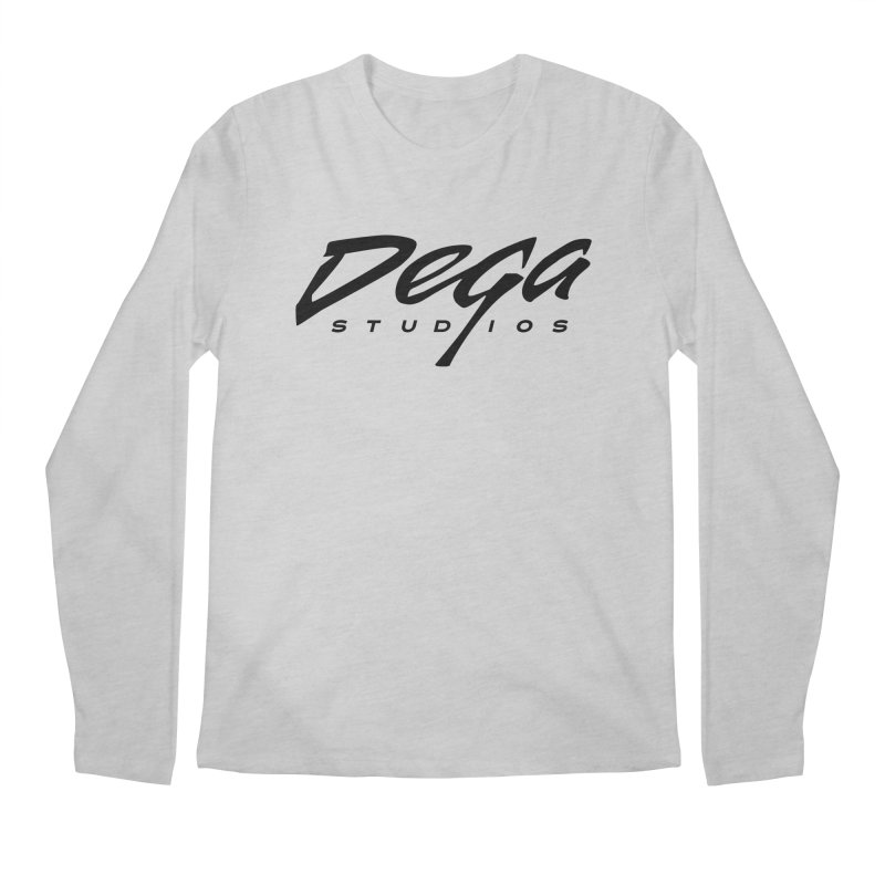 Dega Classic Logo – Light Men's Longsleeve T-Shirt by Dega Studios