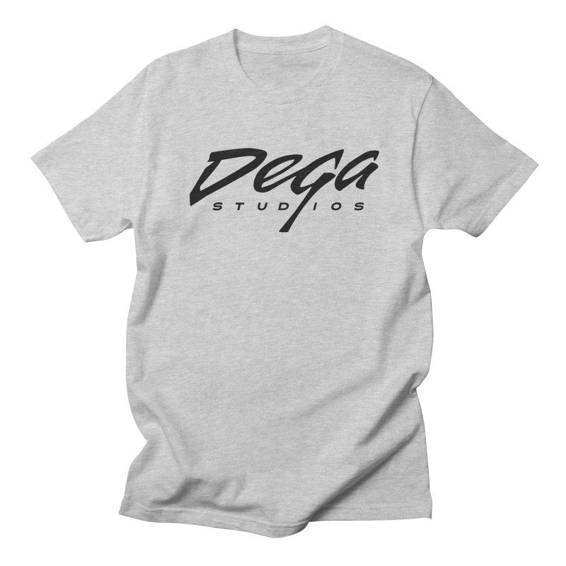 Dega Classic Logo – Light Men's T-Shirt by Dega Studios