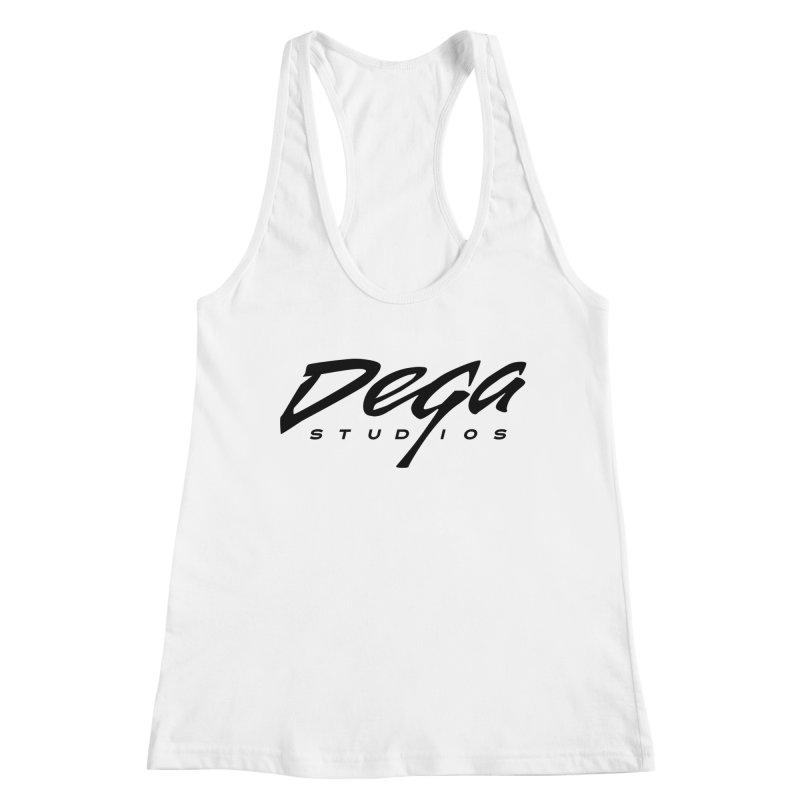 Dega Classic Logo – Light Women's Tank by Dega Studios
