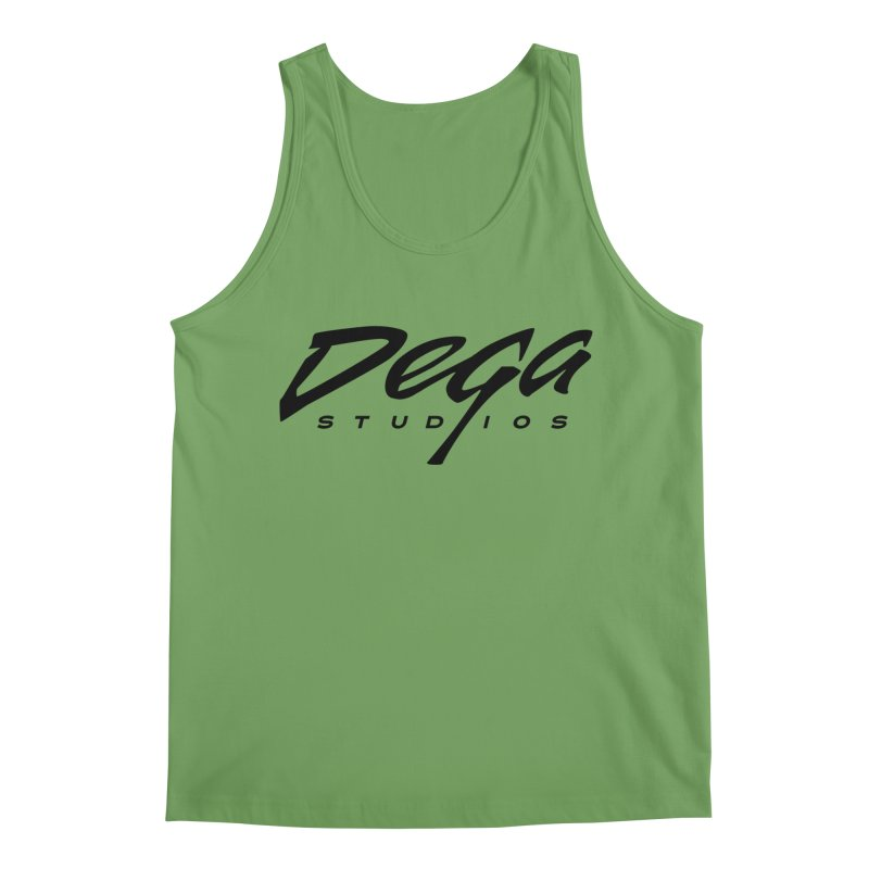 Dega Classic Logo – Light Men's Tank by Dega Studios
