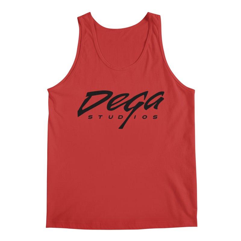 Dega Classic Logo – Light Men's Tank by Dega Studios