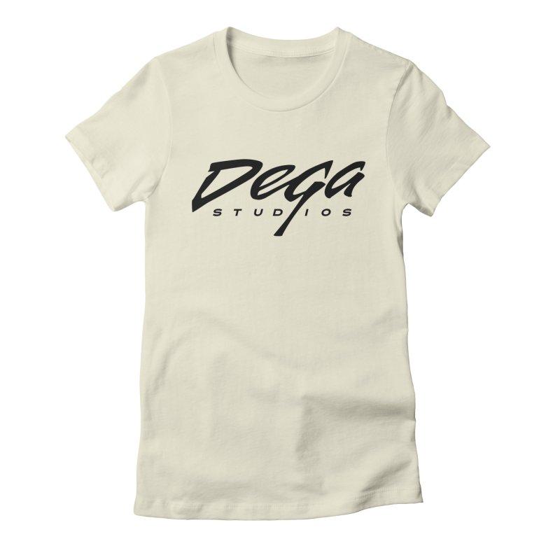 Dega Classic Logo – Light Women's T-Shirt by Dega Studios
