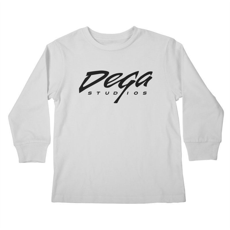 Dega Classic Logo – Light Kids Longsleeve T-Shirt by Dega Studios