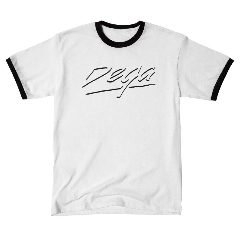 Dega Midnight Logo - Light Men's T-Shirt by Dega Studios
