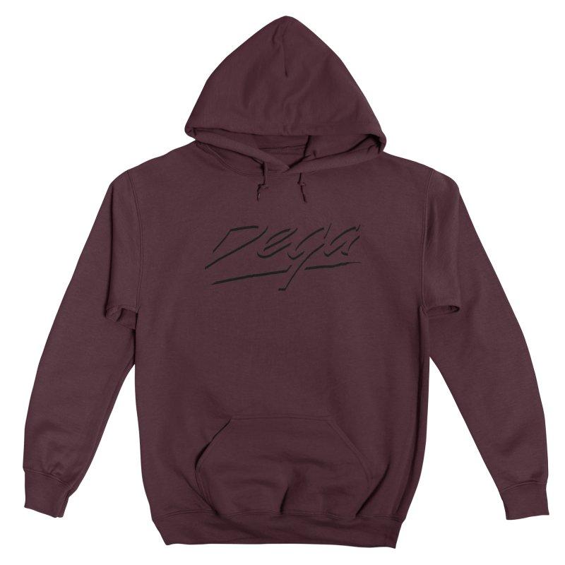Dega Midnight Logo - Light Men's Pullover Hoody by Dega Studios