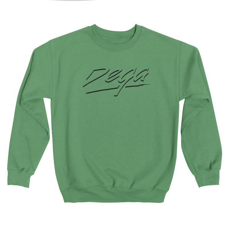 Dega Midnight Logo - Light Women's Sweatshirt by Dega Studios