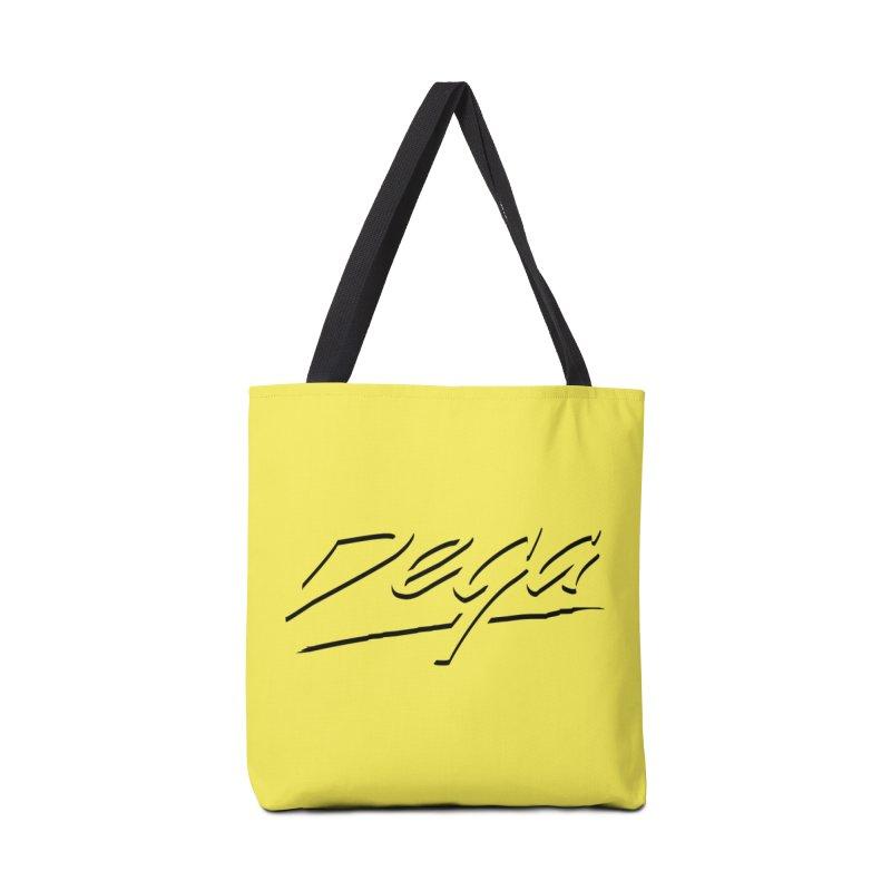 Dega Midnight Logo - Light Accessories Bag by Dega Studios