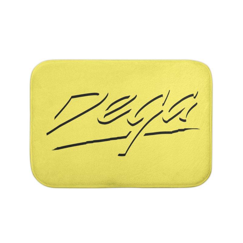 Dega Midnight Logo - Light Home Bath Mat by Dega Studios
