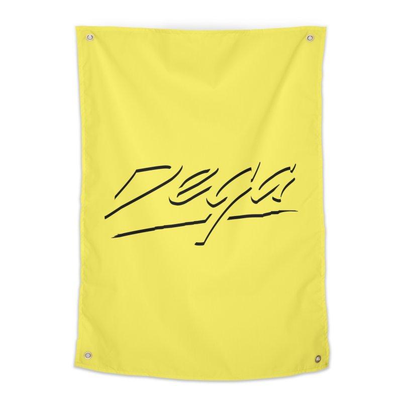 Dega Midnight Logo - Light Home Tapestry by Dega Studios