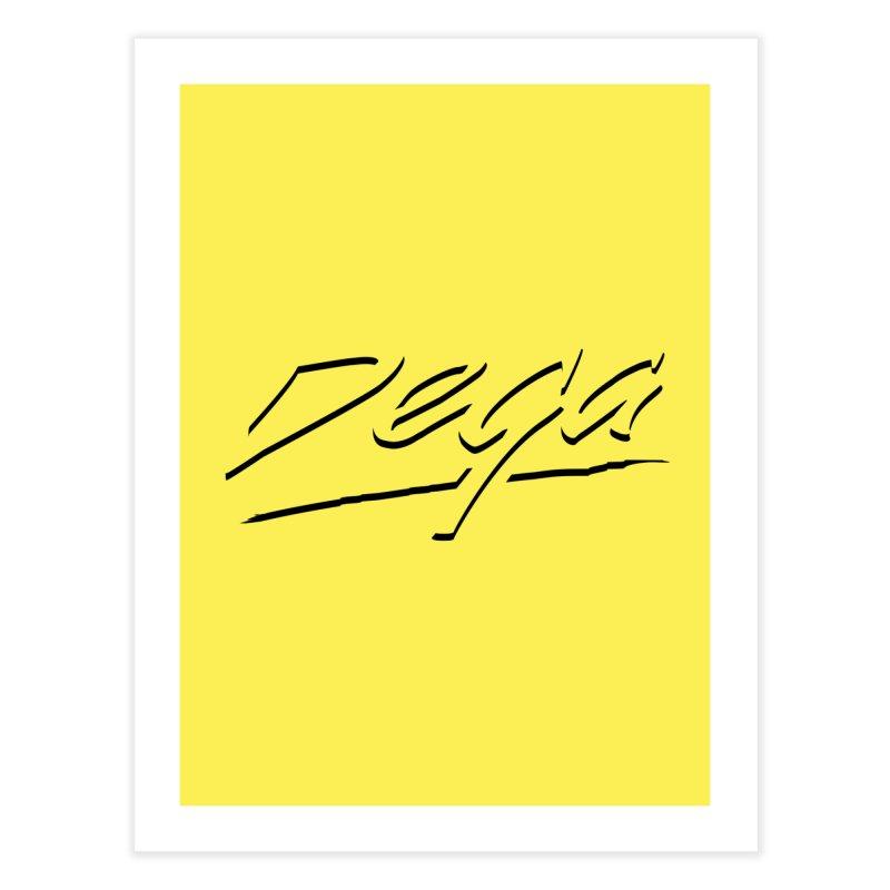 Dega Midnight Logo - Light Home Fine Art Print by Dega Studios