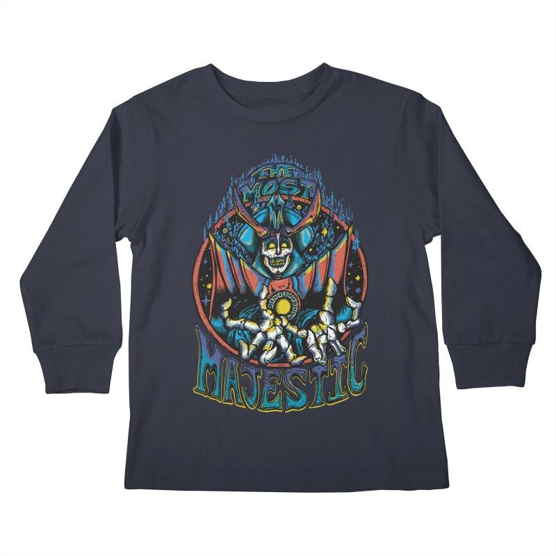 THE MOST MAJESTIC Kids Longsleeve T-Shirt by Dega Studios