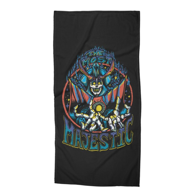 THE MOST MAJESTIC Accessories Beach Towel by Dega Studios