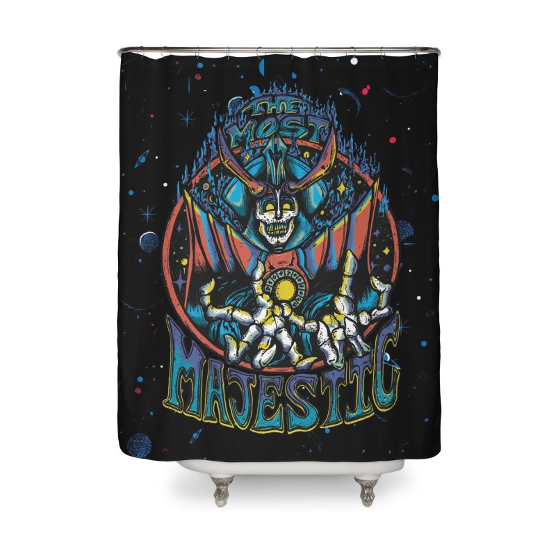 THE MOST MAJESTIC Home Shower Curtain by Dega Studios