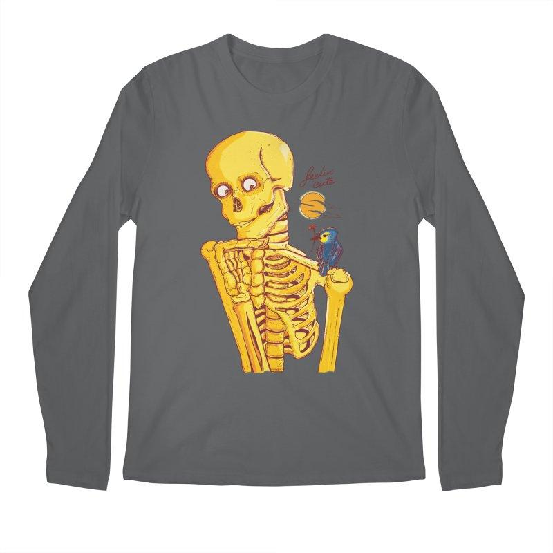 feelin' cute Men's Longsleeve T-Shirt by Dega Studios