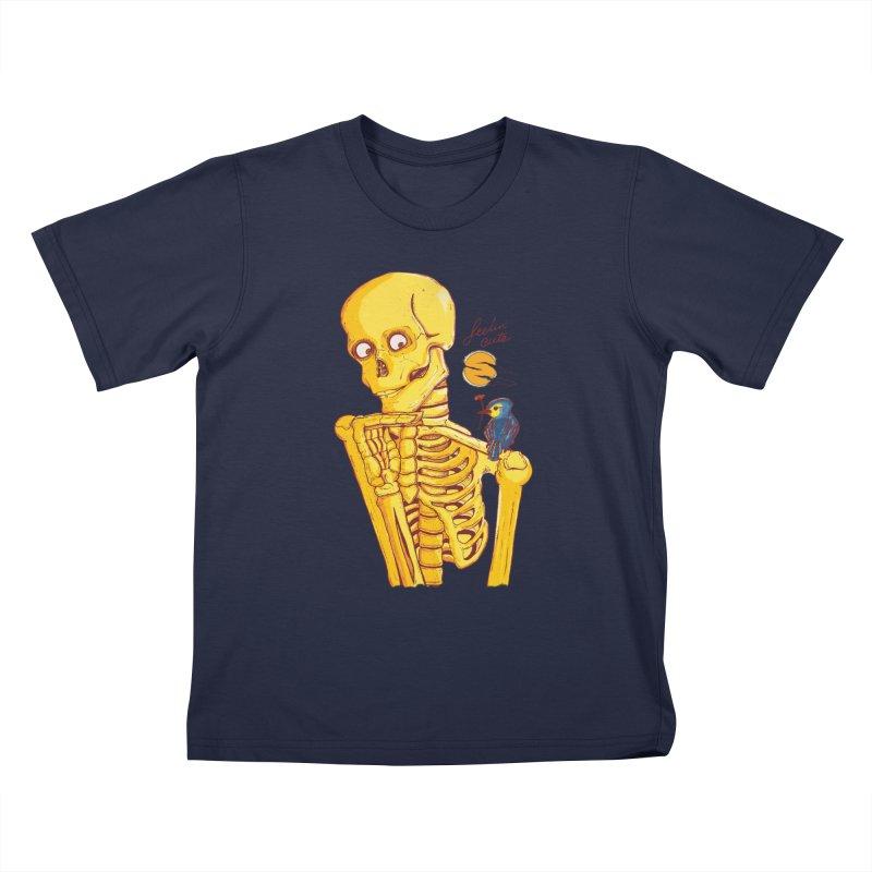 feelin' cute Kids T-Shirt by Dega Studios