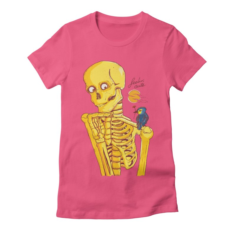 feelin' cute Women's T-Shirt by Dega Studios