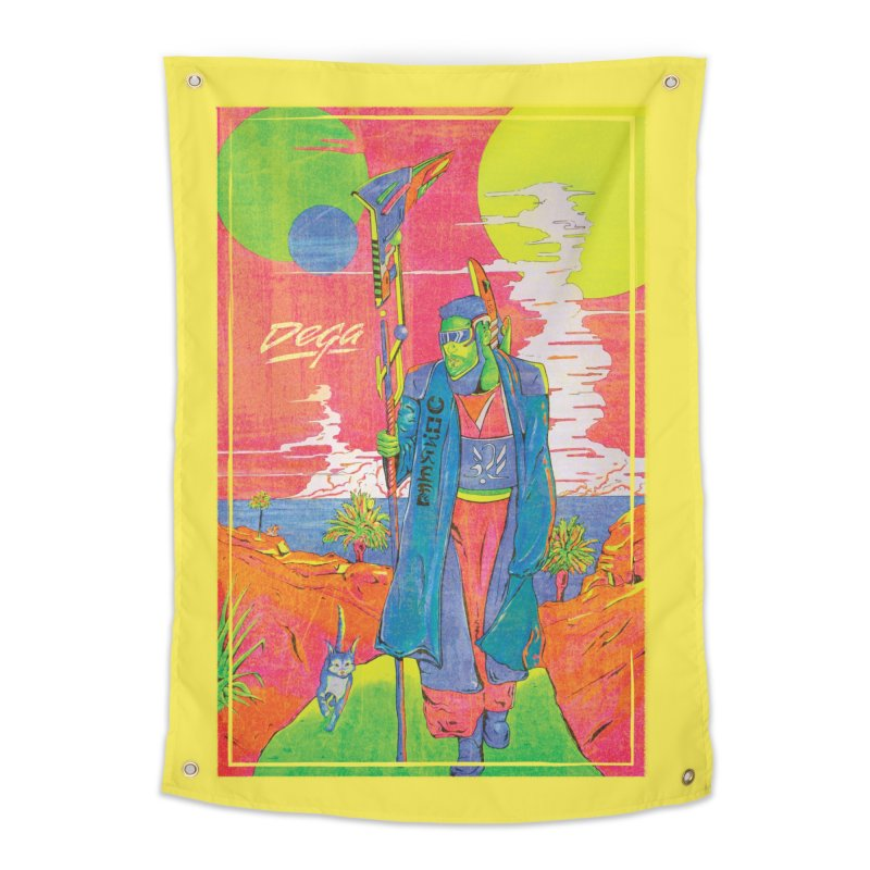 3020 Home Tapestry by Dega Studios