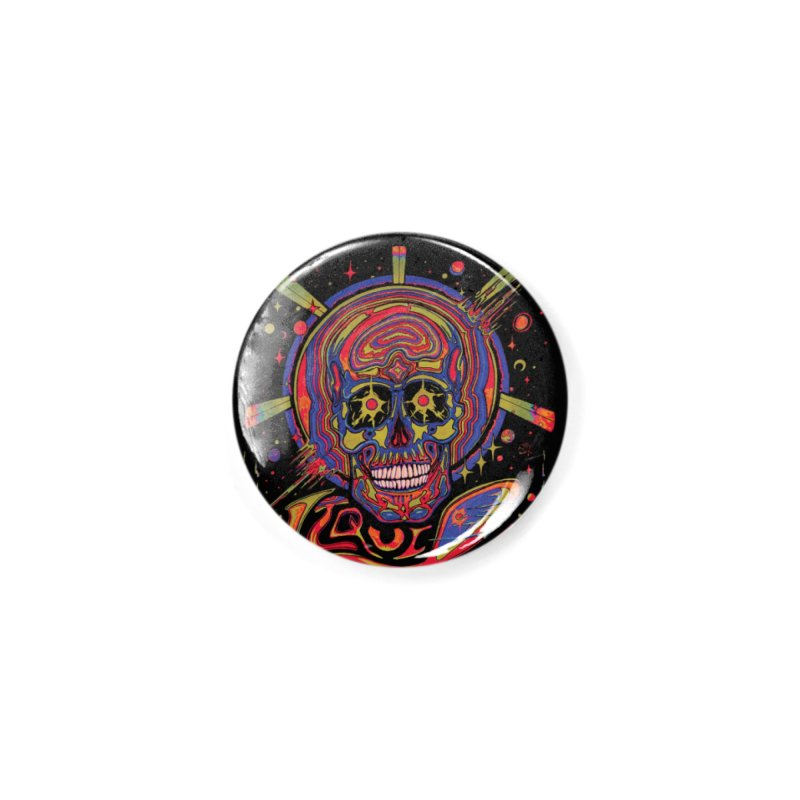 Liquid Science Forever Accessories Button by Dega Studios
