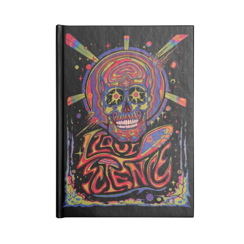 Liquid Science Forever Accessories Notebook by Dega Studios