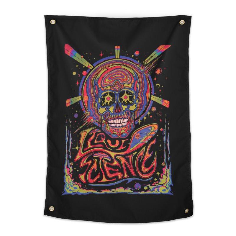 Liquid Science Forever Home Tapestry by Dega Studios