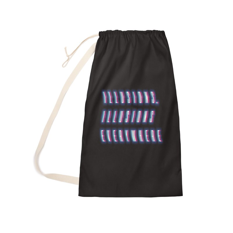 Illusions Everywhere Accessories Bag by Dega Studios