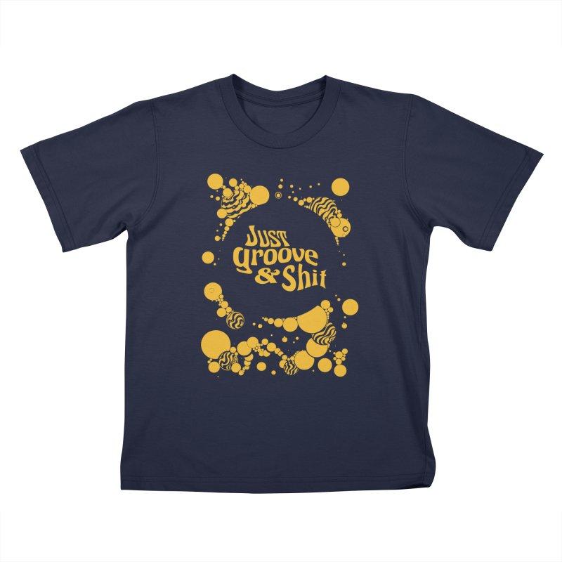 just groove Kids T-Shirt by Dega Studios