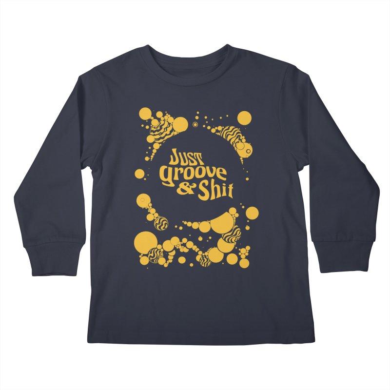 just groove Kids Longsleeve T-Shirt by Dega Studios