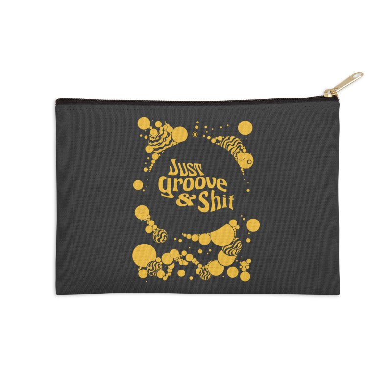 just groove Accessories Zip Pouch by Dega Studios