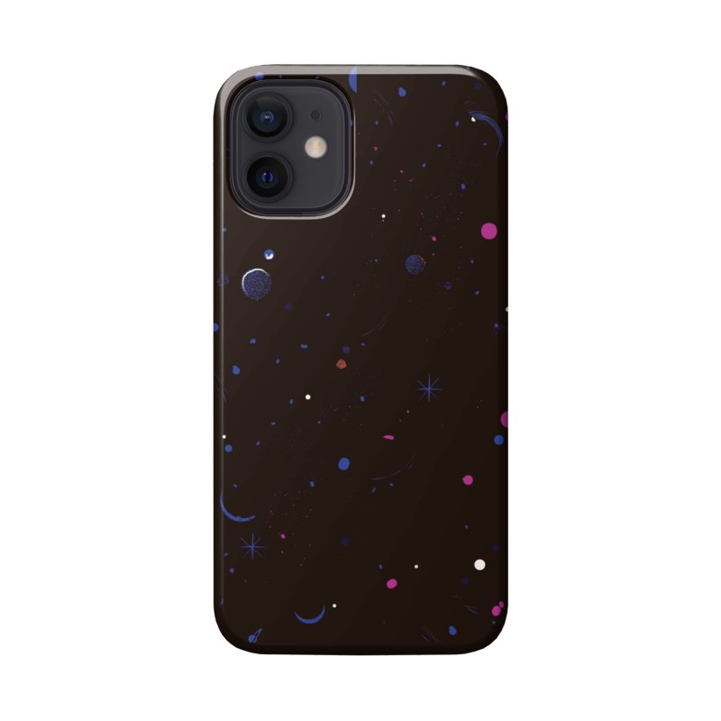 Dega Space Party Accessories Phone Case by Dega Studios