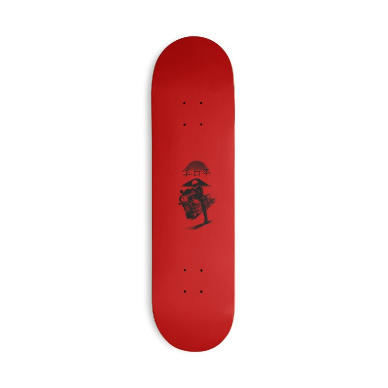 All Japan Autobike - LoFi Edition Accessories Skateboard by Dega Studios