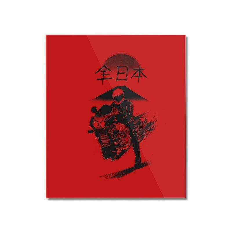 All Japan Autobike - LoFi Edition Home Mounted Acrylic Print by Dega Studios