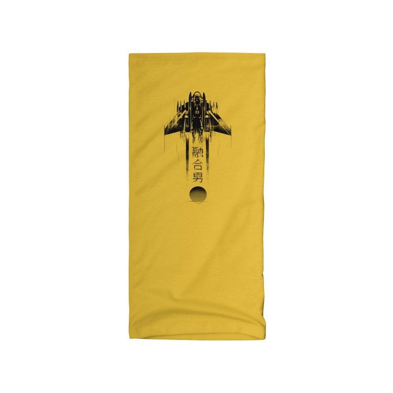 Fusionman - LoFi Edition Accessories Neck Gaiter by Dega Studios