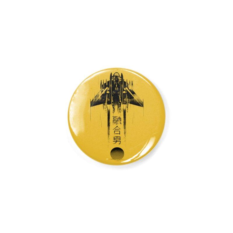 Fusionman - LoFi Edition Accessories Button by Dega Studios