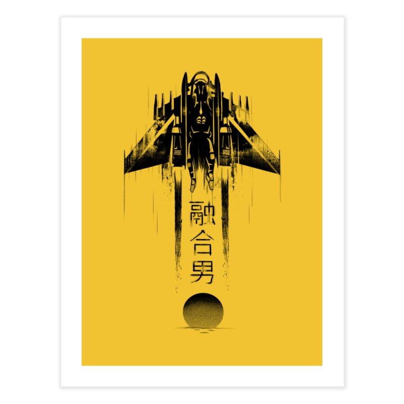 Fusionman - LoFi Edition Home Fine Art Print by Dega Studios