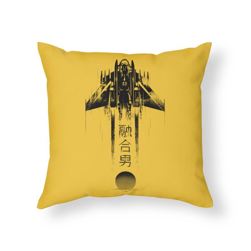 Fusionman - LoFi Edition Home Throw Pillow by Dega Studios