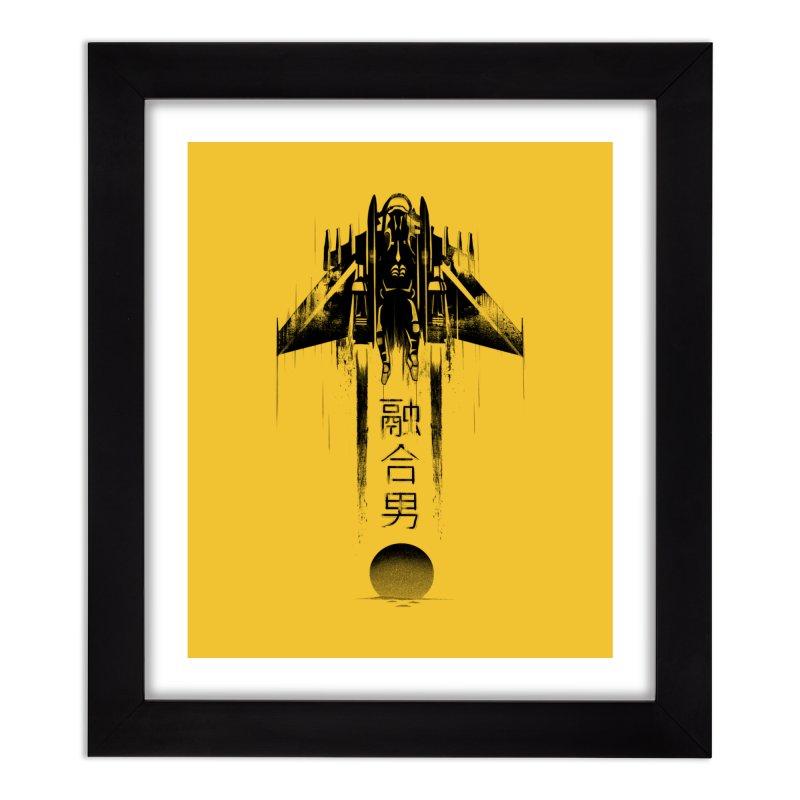 Fusionman - LoFi Edition Home Framed Fine Art Print by Dega Studios