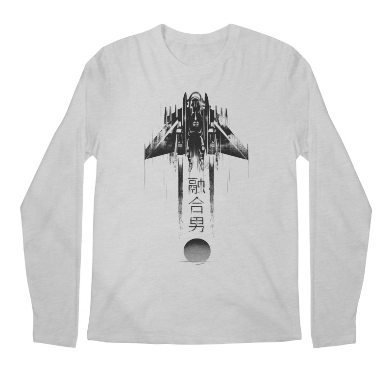 Fusionman - LoFi Edition Men's Longsleeve T-Shirt by Dega Studios