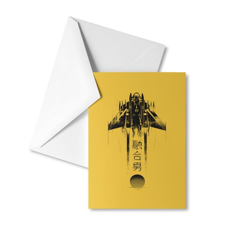 Fusionman - LoFi Edition Accessories Greeting Card by Dega Studios