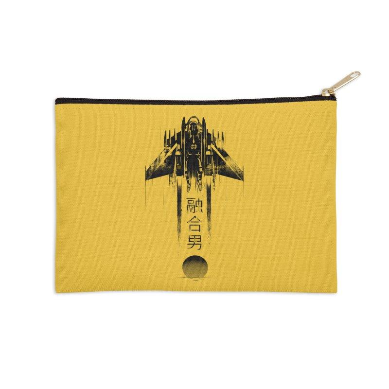 Fusionman - LoFi Edition Accessories Zip Pouch by Dega Studios