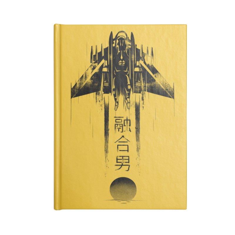 Fusionman - LoFi Edition Accessories Notebook by Dega Studios