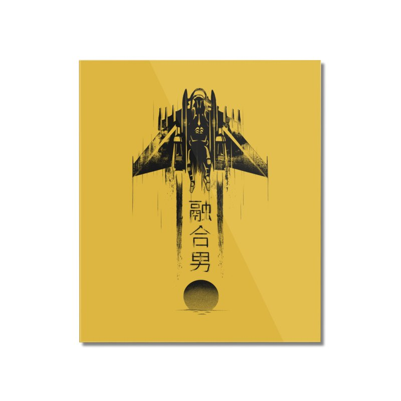 Fusionman - LoFi Edition Home Mounted Acrylic Print by Dega Studios