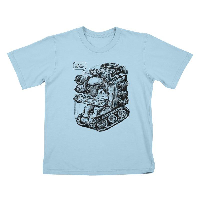 Byrdman's Revenge Kids T-Shirt by Dega Studios