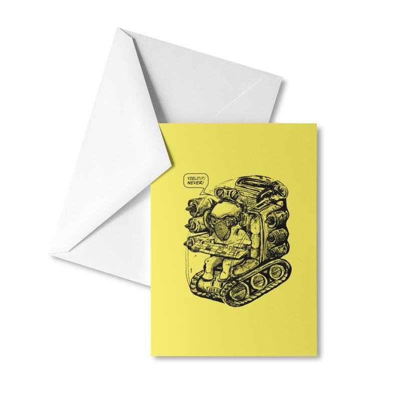 Byrdman's Revenge Accessories Greeting Card by Dega Studios