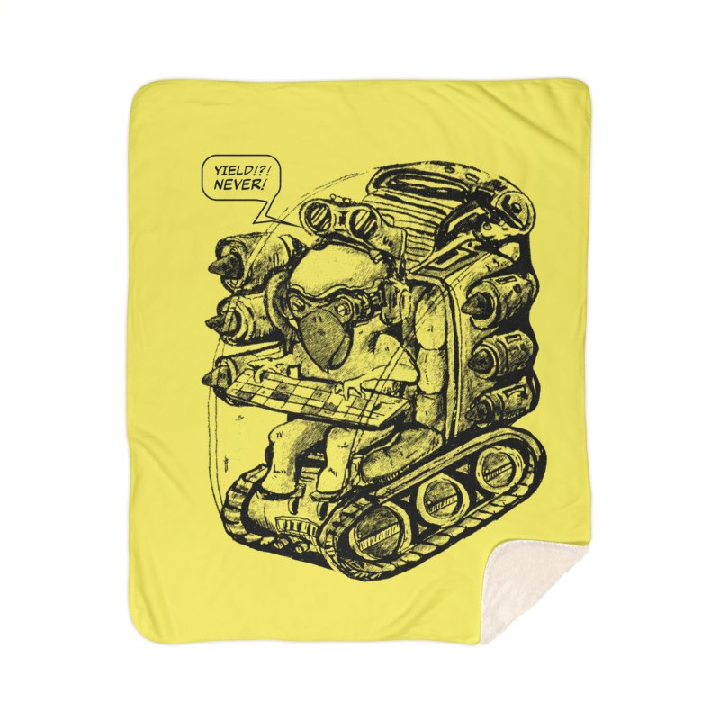 Byrdman's Revenge Home Blanket by Dega Studios