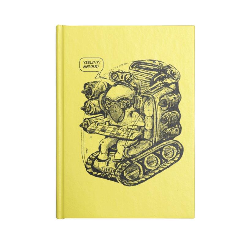 Byrdman's Revenge Accessories Notebook by Dega Studios