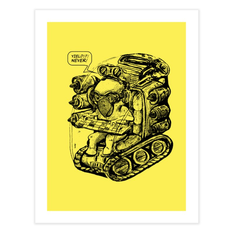 Byrdman's Revenge Home Fine Art Print by Dega Studios
