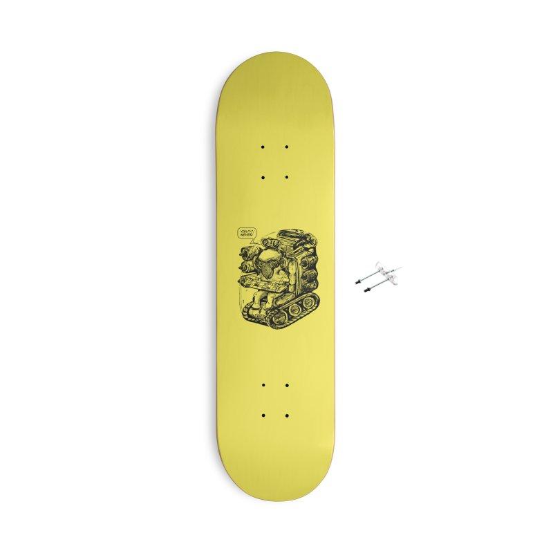 Byrdman's Revenge Accessories Skateboard by Dega Studios