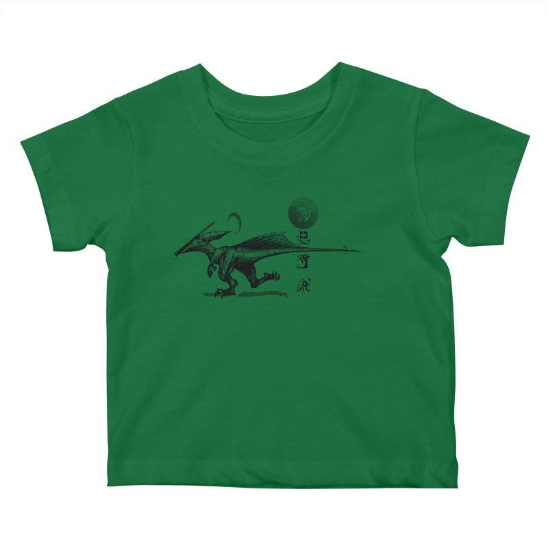 Sun Racer Kids Baby T-Shirt by Dega Studios