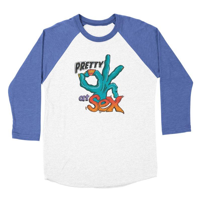 Pretty OK at Sex Women's Longsleeve T-Shirt by Dega Studios