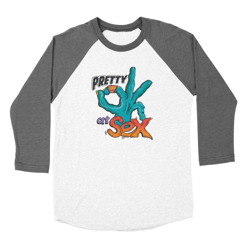 Pretty OK at Sex Men's Longsleeve T-Shirt by Dega Studios
